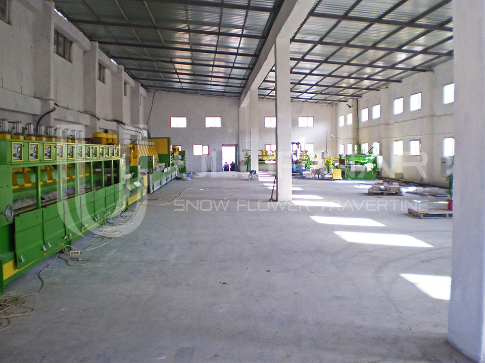 TRAVERTINE MARBLE PRODUCTION PLANT
